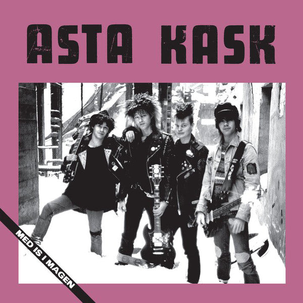 "Asta Kask ""Med Is I Magen"" LP"