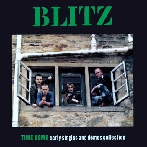 "Blitz ""Time Bomb Early Singles And Demos Collection"" LP"