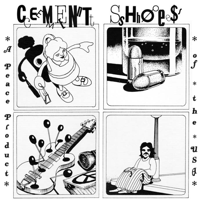 "Cement Shoes ""A Peace Product of the USA"" 7"""