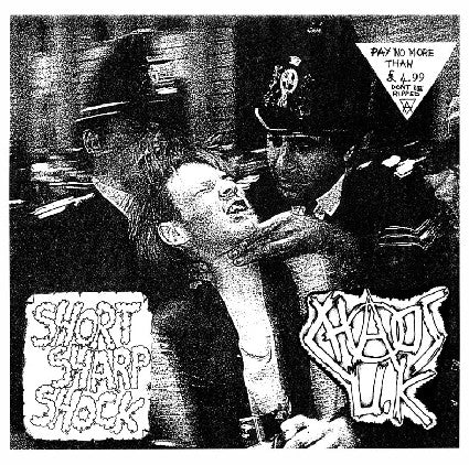"Chaos UK ""Short Sharp Shock"" LP"