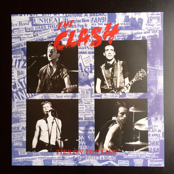 "Clash , The ""Ties On The Line"" LP"