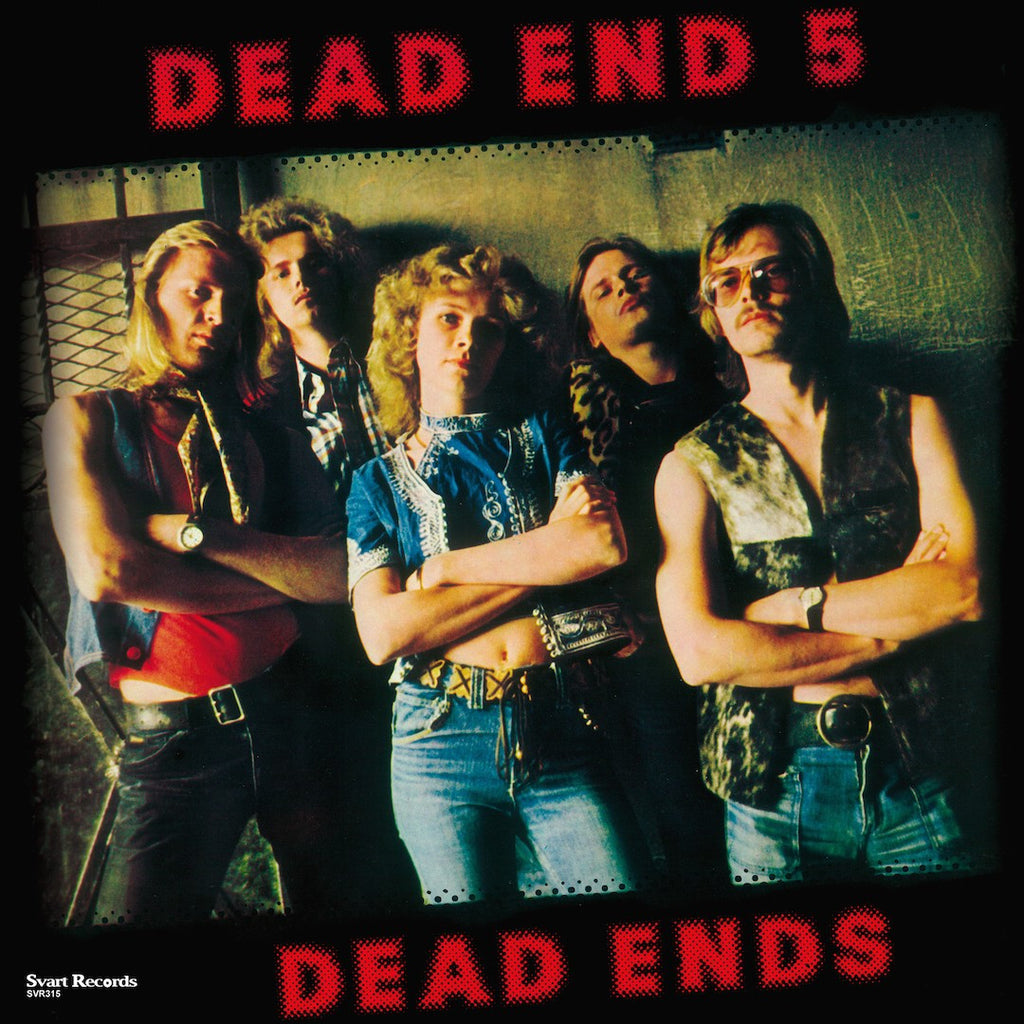 "Dead End 5 ""Dead Ends"" Gatefold LP + 7"""