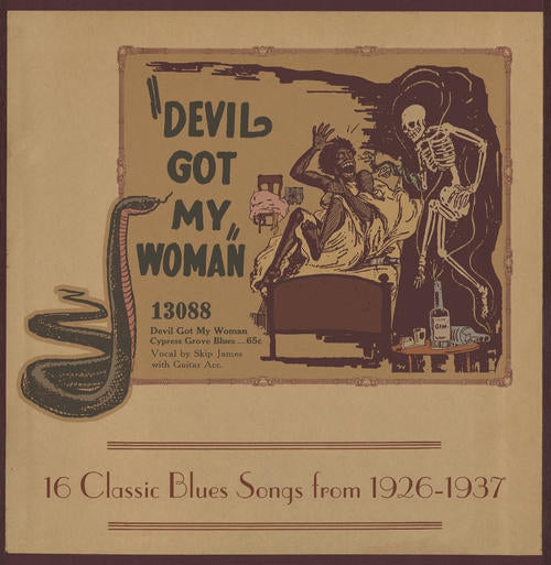 "V/A ""Devil Got My Woman - 16 Classic Blues Songs From 1927-1937"" LP"