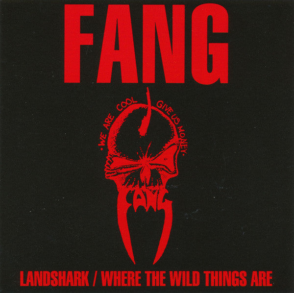 "Fang ""Landshark / Where The Wild Things Are"" CD"