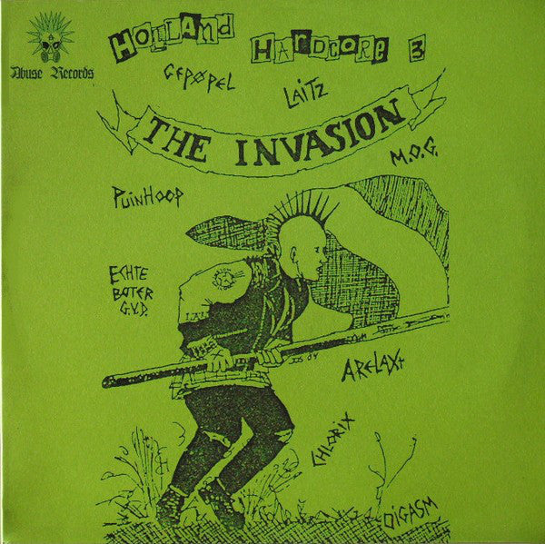 "V/A ""Holland Hardcore 3 - The Invasion"" 2xLP"