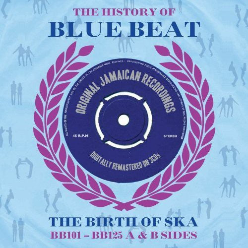"V/A ""History of Blue Beat: BB101 BB125 A&B Sides"" 3xCD"