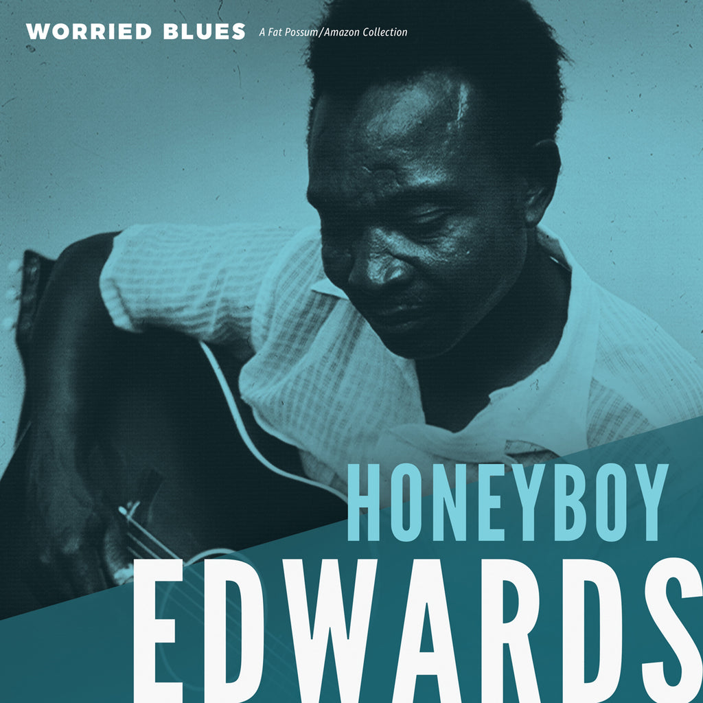 "Honeyboy Edwards ""Worried Blues"" LP"