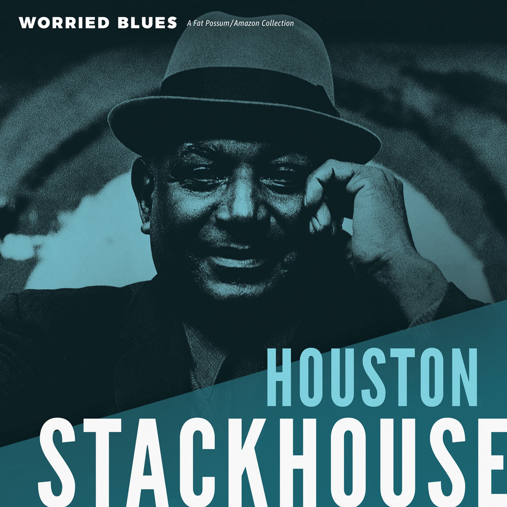 "Houston Stackhouse ""Worried Blues"" LP"