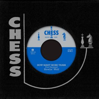 "Howlin' Wolf ""How Many More Years / Moanin' At Midnight"" 7"""