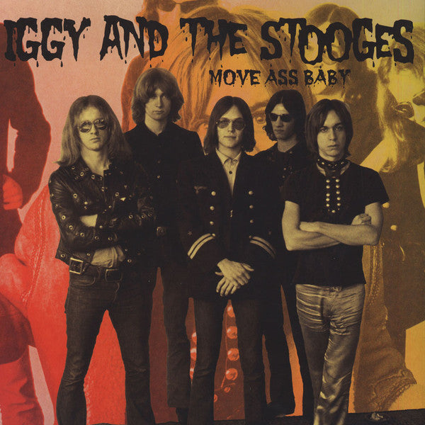 "Iggy And The Stooges ""Move Ass Baby"" 2xLP"