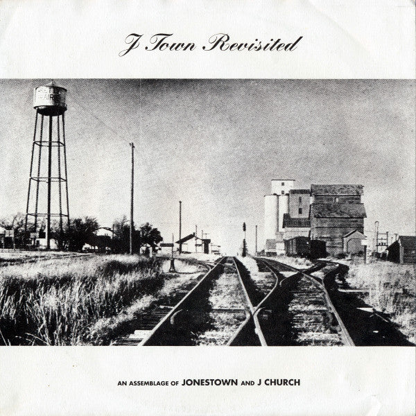 "J Church / Jonestown ""J Town Revisited (An Assemblage Of Jonestown And J Church)"" 7"""