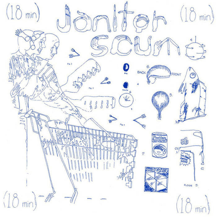 "Janitor Scum ""Scenes From The Grocery"" LP"