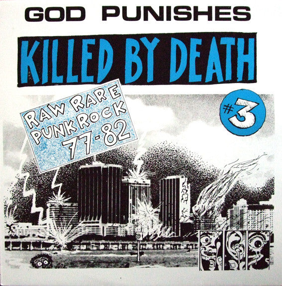 "V/A ""Killed By Death #3"" LP"
