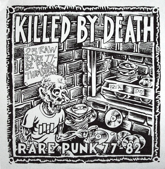 "V/A ""Killed By Death #1"" LP"