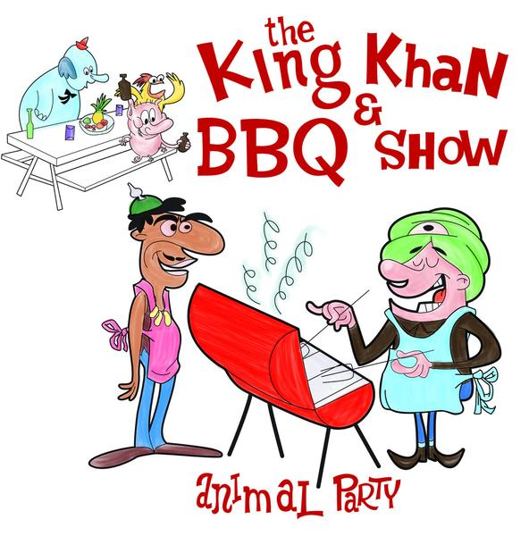 "King Khan & BBQ Show ""Animal Party"" 7"""