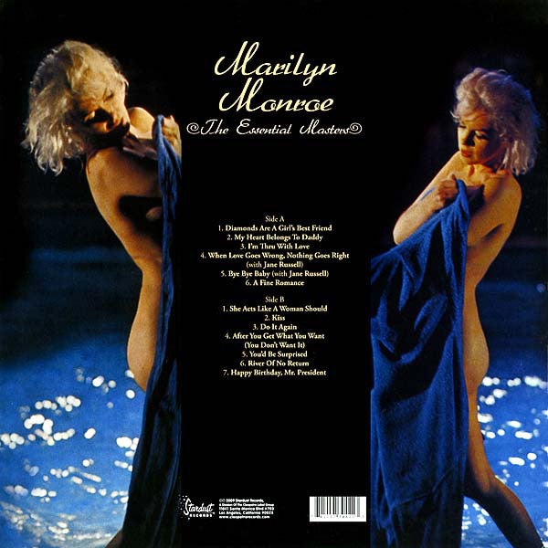 "Marilyn Monroe ""The Essential Masters"" LP"