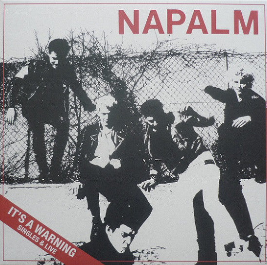"Napalm ""It's A Warning Singles & Live"" LP"