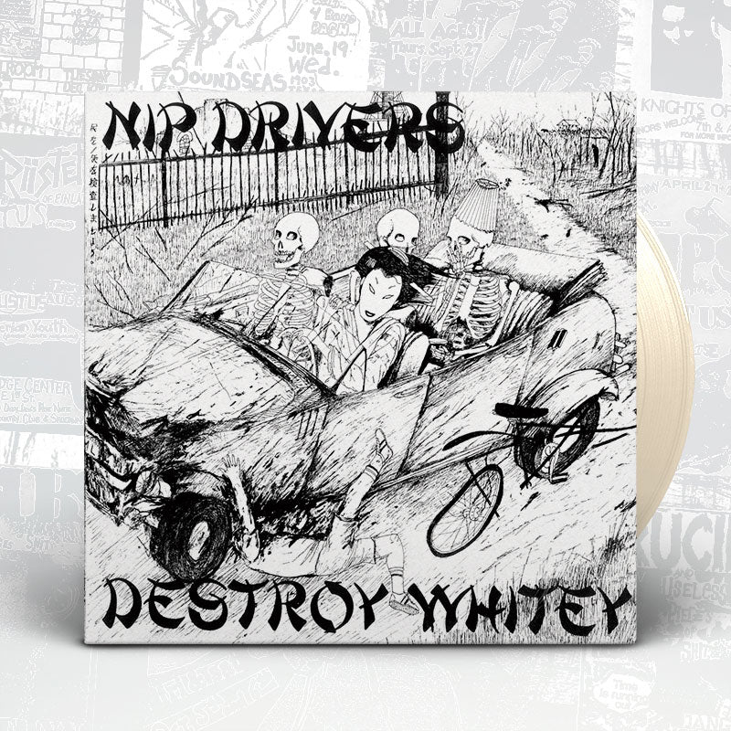 "Nip Drivers ""Destroy Whitey"" Gatefold LP"