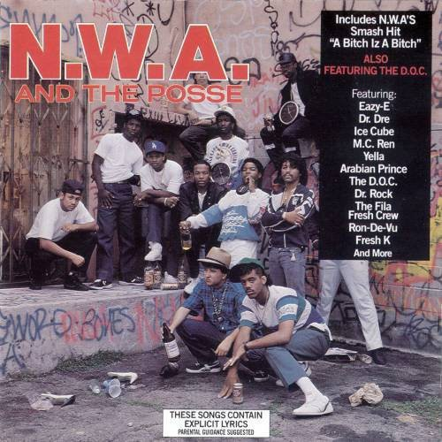 "N.W.A. & The Posse ""S/T"" LP"