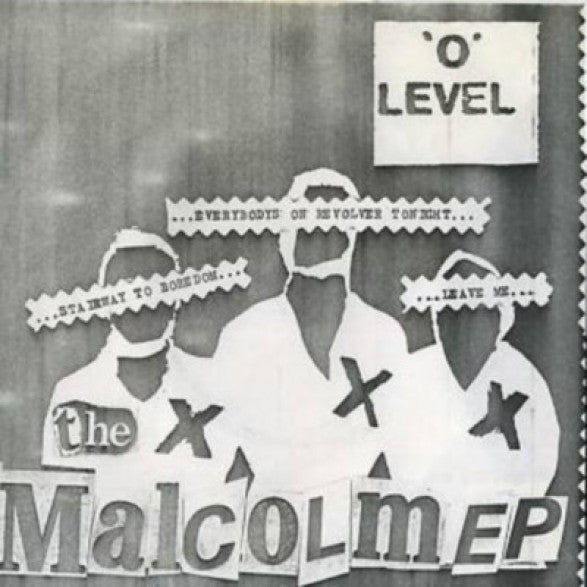 "'O' Level ‎""The Malcolm EP"" 7"""