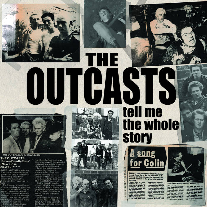 "Outcasts , The ""Tell Me The Whole Story"" 2xLP"