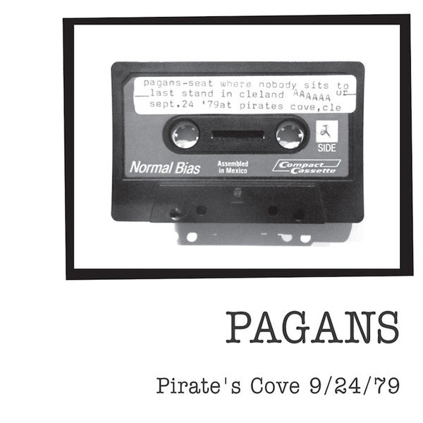 "Pagans ""Pirate's Cove 9/24/79"" LP"