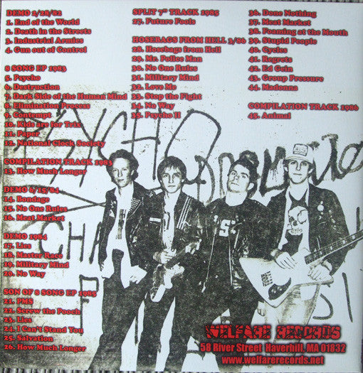 "Psycho ""Studio Recordings 1982 - 1986"" 2xLP"