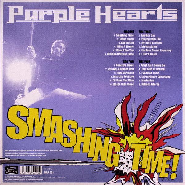 "Purple Hearts ""Smashing Time"" 2xLP"