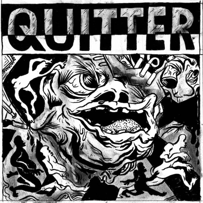 "Quitter ""S/T"" 7"""
