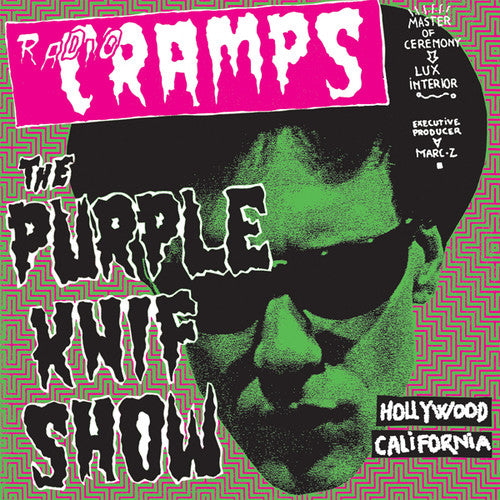 "V/A ""Radio Cramps : The Purple Knif Show"" 2xLP"