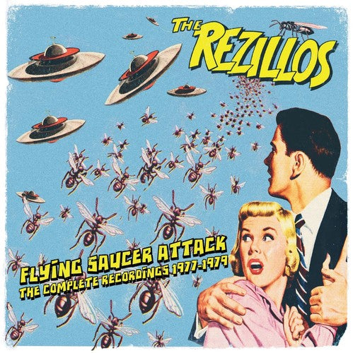"Rezillos , The ""Flying Saucer Attack: Complete Recordings 1977-1979"" 2xCD"