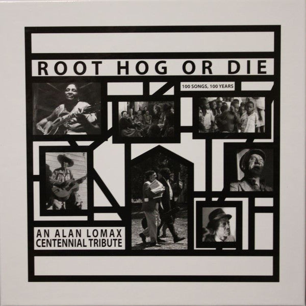"V/A ""Root Hog Or Die: 100 Songs, 100 Years, An Alan Lomax Centennial Tribute"" 6xLP BOX"