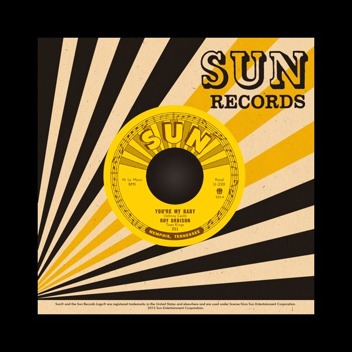 "Roy Orbison and the Teen Kings ""You're My Baby b/w Rockhouse"" 7"""
