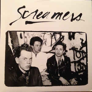 "Screamers ""Strength Through Intimidation - The 1978 Geza X Demos"" LP"