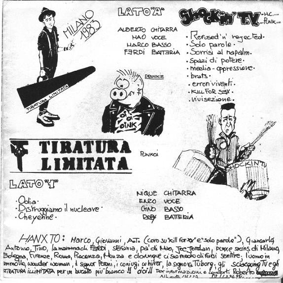 Shockin' TV / Tiratura Limitata Split 7""