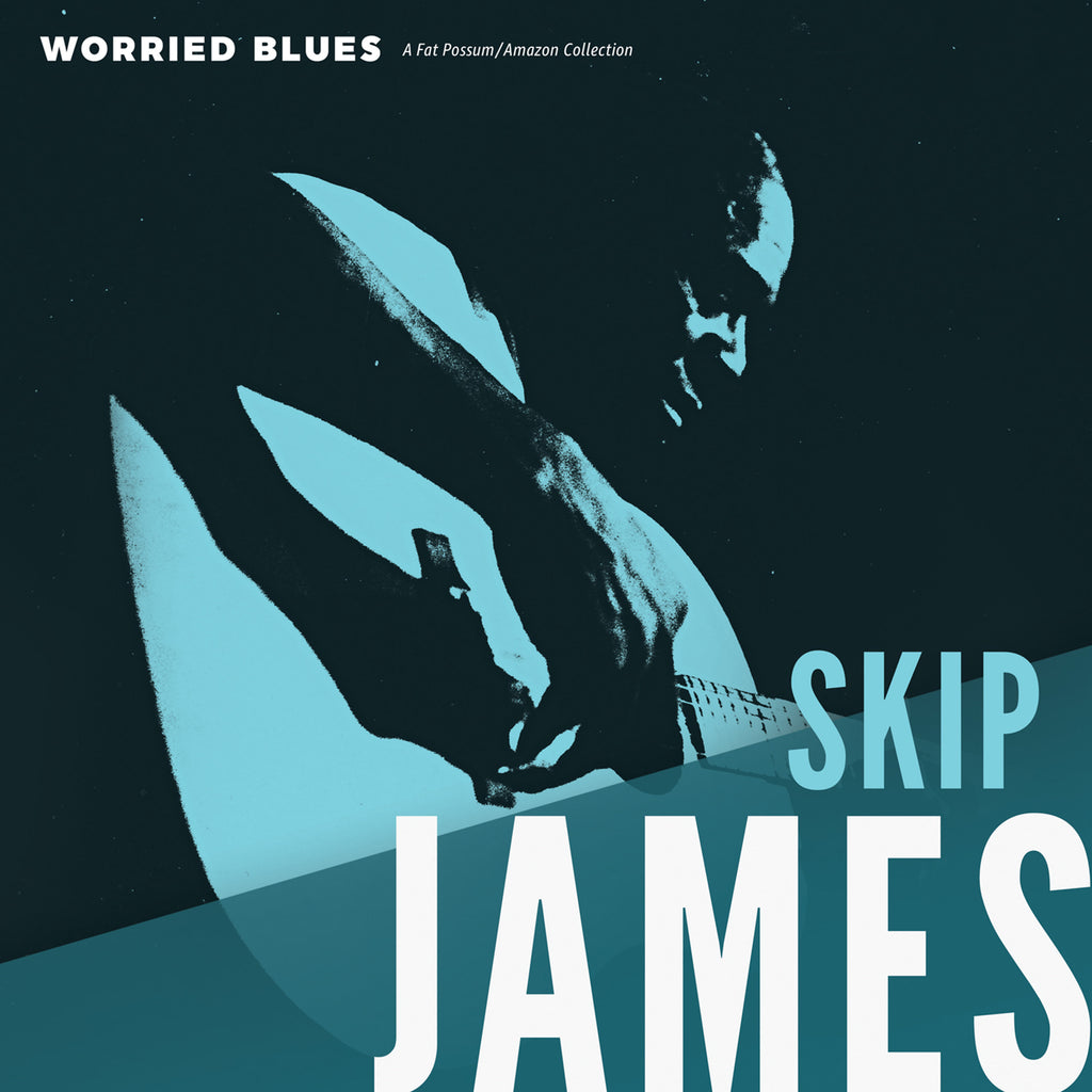 "Skip James ""Worried Blues"" LP"