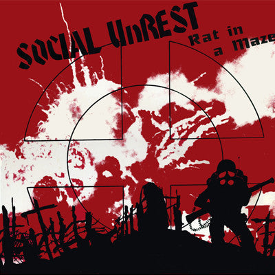 "Social Unrest ""Rat In A Maze"" LP"