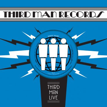 "Spray Paint ""Third Man Live"" 7"""