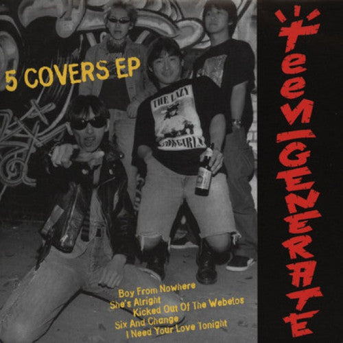 "Teengenerate ""Five Covers"" 7"""