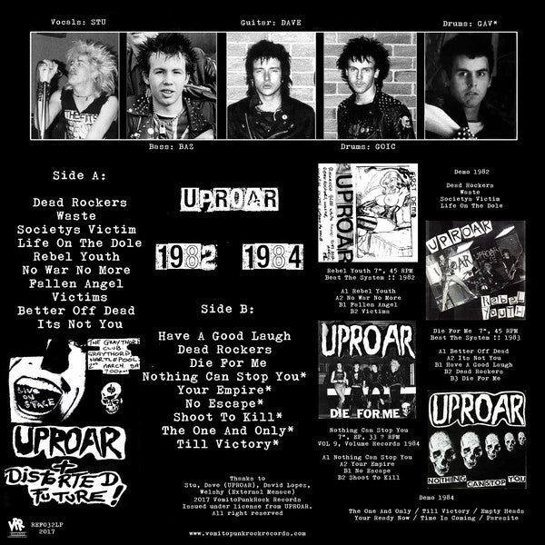 "Uproar ""No War No More"" LP"