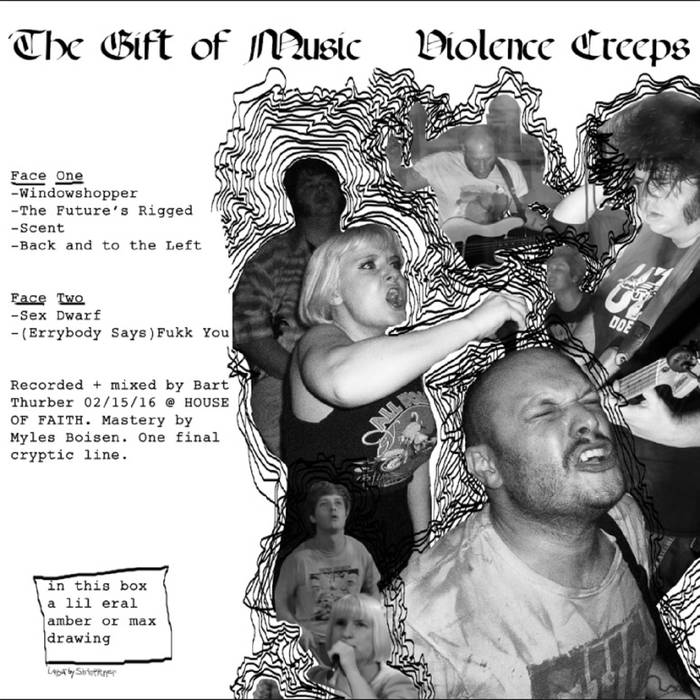 "Violence Creeps ""The Gift of Music"" LP"