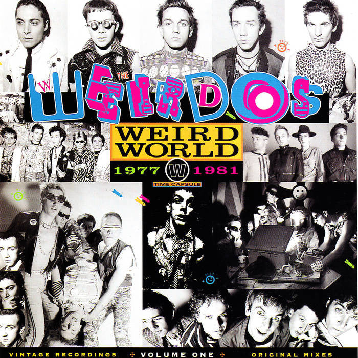 "Weirdos ""Weird World Volume 1"" LP"