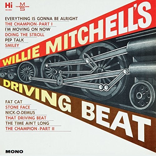 "Willie Mitchell ""Driving Beat"" LP"