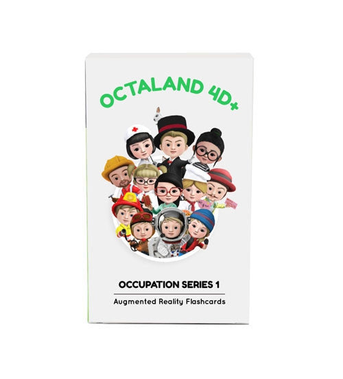 Octaland 4D+ Cards - 4D Imagination