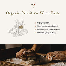 Load image into Gallery viewer, Primitivo Wine Orecchiette, Gourmet Pasta, Italian Pasta, Single Pack (8.8 Ounces)