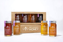 Load image into Gallery viewer, Bee Harmony Mini Honey Gift Set | Premium Raw Honey | Product of U.S.A. | Kosher for Passover