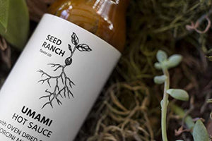 Seed Ranch Flavor Co. - Umami Sauce (Mild) - Organic Gourmet Savory Sauce for Cooking, Marinating, Grilling, and Dousing