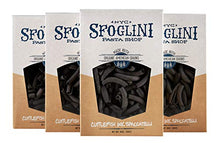 Load image into Gallery viewer, Sfoglini Cuttlefish Ink Spaccatelli Pasta, 16 Ounces, 4 Count