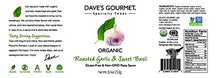 Load image into Gallery viewer, Dave's Gourmet Organic Roasted Garlic and Sweet Basil Pasta Sauce, Pack of 3