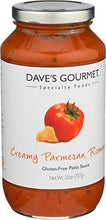 Load image into Gallery viewer, DAVES GOURMET SAUCE PARMSN RMANO CRMY 25OZ